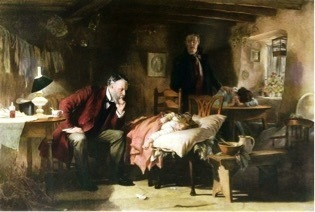 Sir Luke Fildes's 1891 painting The Doctor